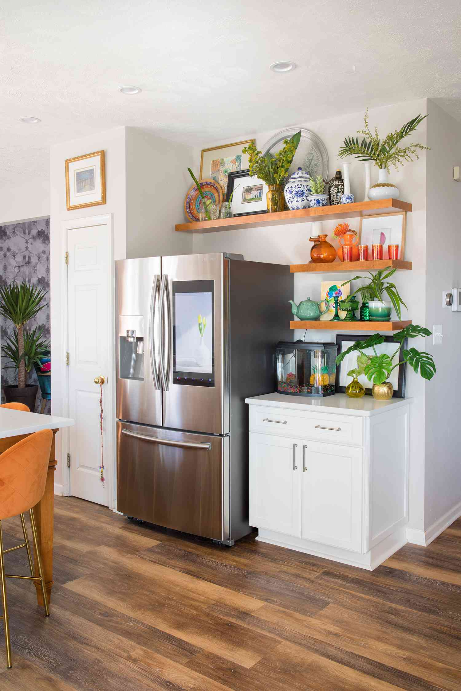 casa watkins living kitchen