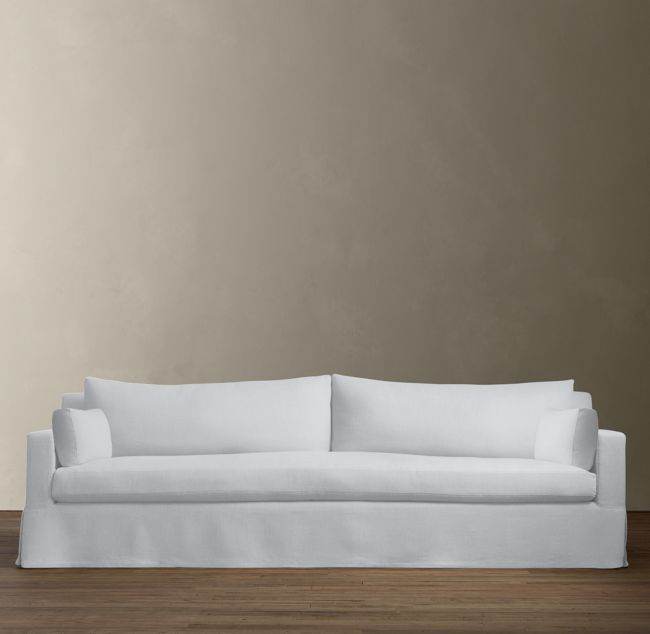 RH Modern Belgian Track Arm Slipcovered Sofa
