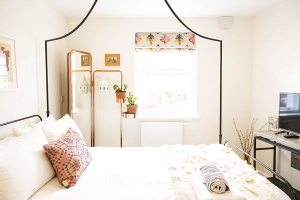 decorated bed, bed eco friendly mattresses