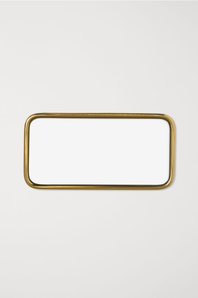 H&M Tray with Mirrored Glass