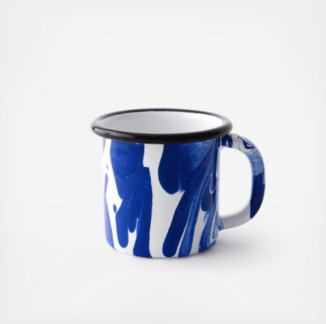 Bornn Swirl Enamelware Mugs