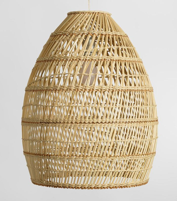 Basket Weave Bamboo Pendant Shade by World Market