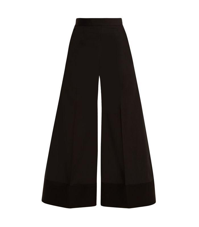 Mizuki wide-leg wool trousers