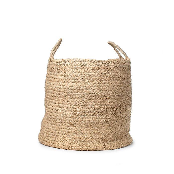 Amber Interior Design Braided Floor Basket