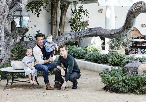 Nate Berkus and Jeremiah Brent—family home