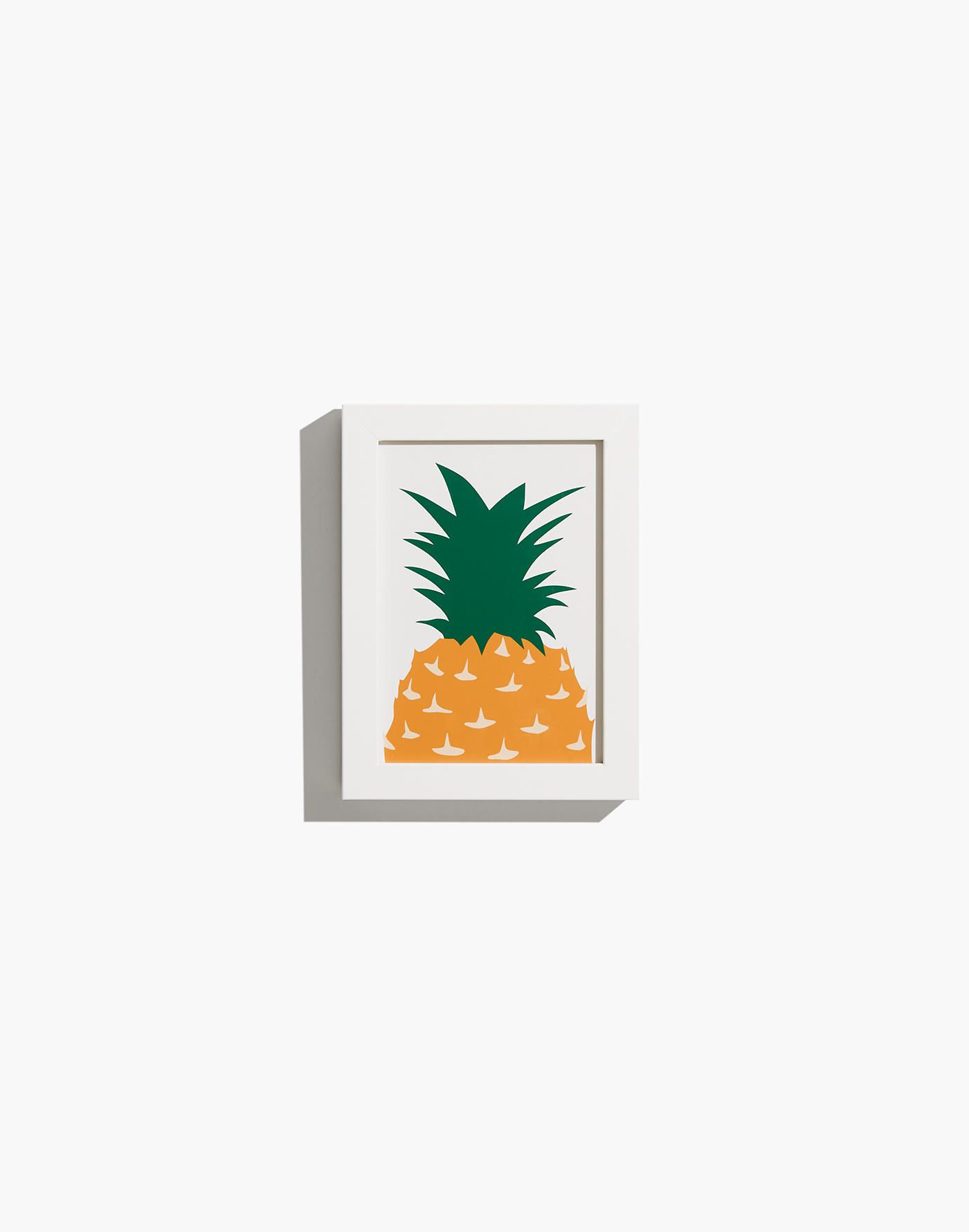 Extra-Small Pineapple Framed Print