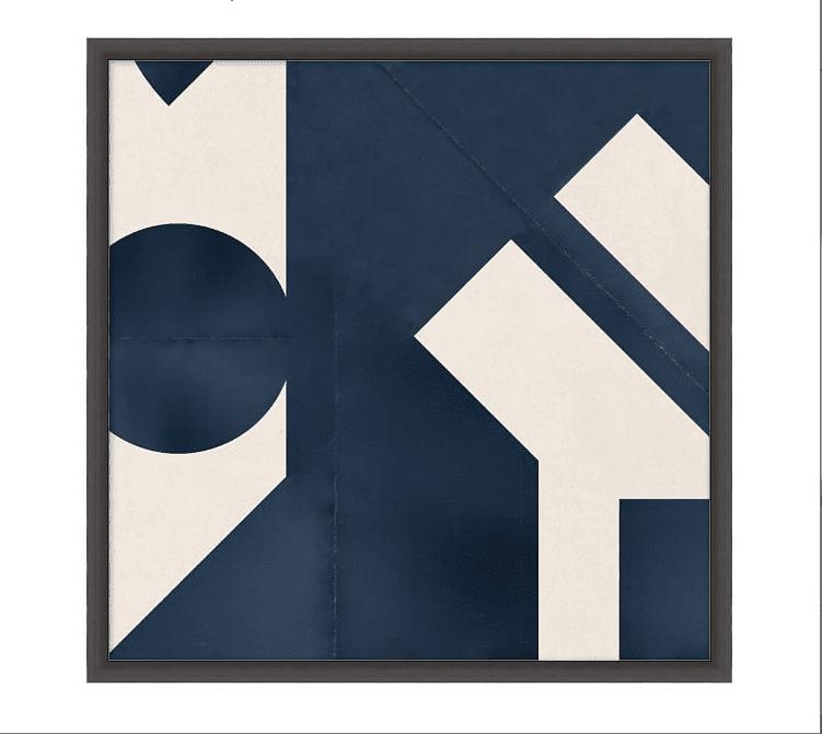 Geometric Paper Print