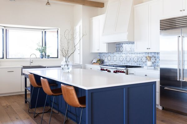 how to clean hardwood floors - kitchen with natural wood flooring