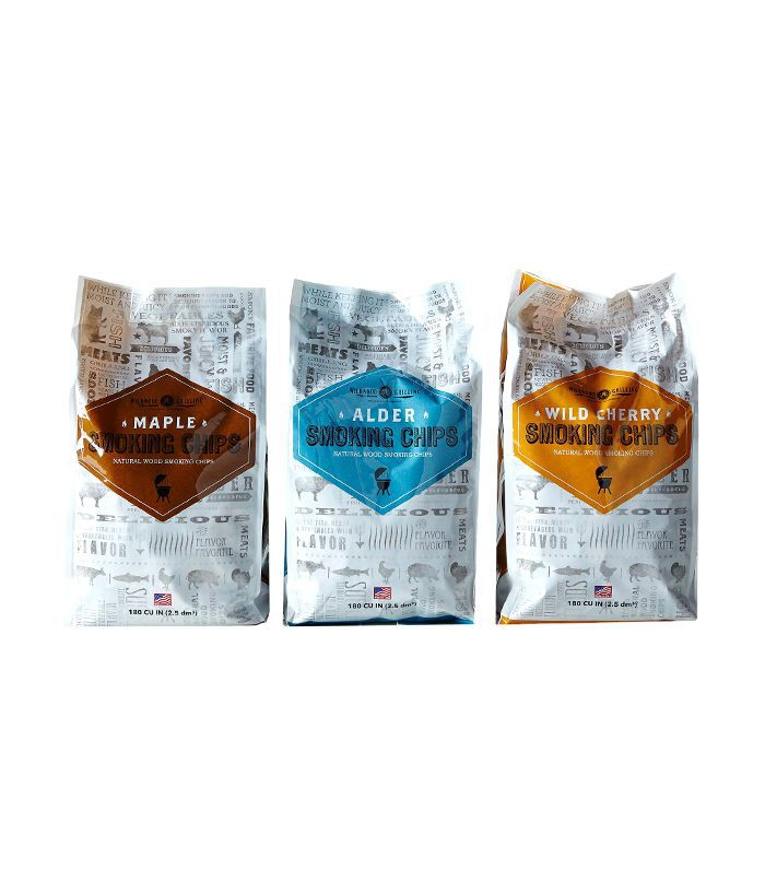 Wildwood Grilling Smoking Chips Sampler Pack