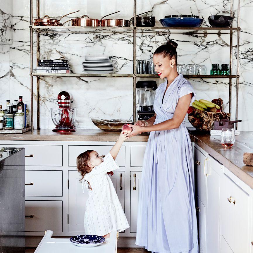 Denise Vasi—marble kitchen