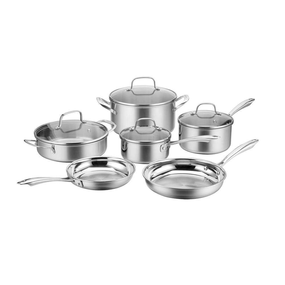 Multiclad Triply 10-Piece Stainless Steel Cookware Set—Home Depot Spring Sale