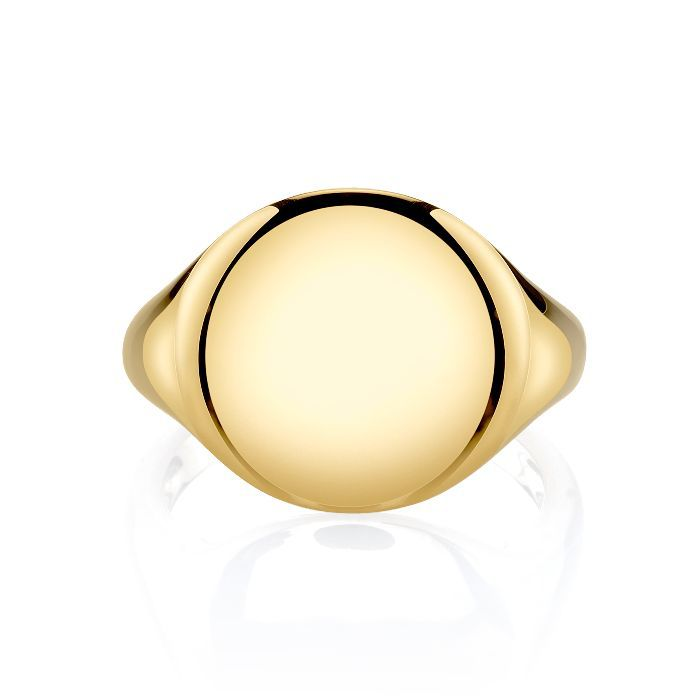 The Last Line Gold Signet Ring