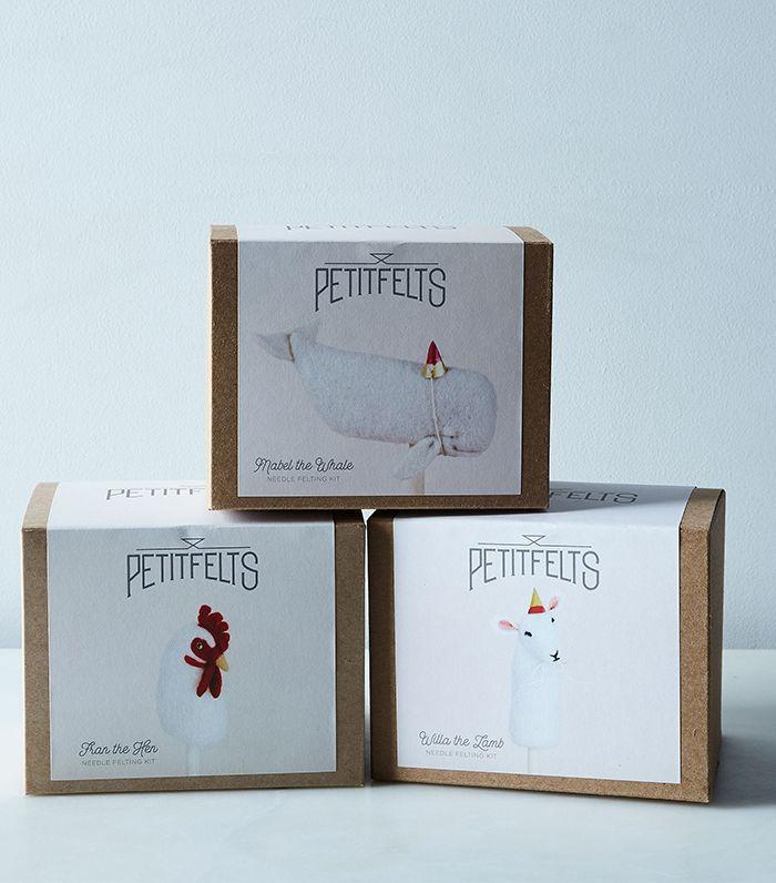 Petitfelts DIY Felted Animal & Plant Kits