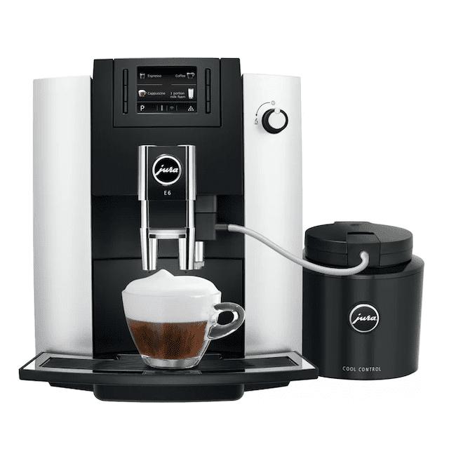 Jura E6 Super-Automatic Espresso Machine