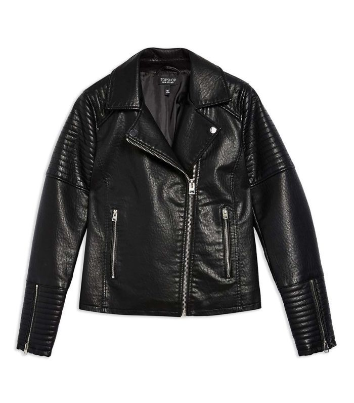 Topshop Rosa Biker Jacket First-Time Flying Tips