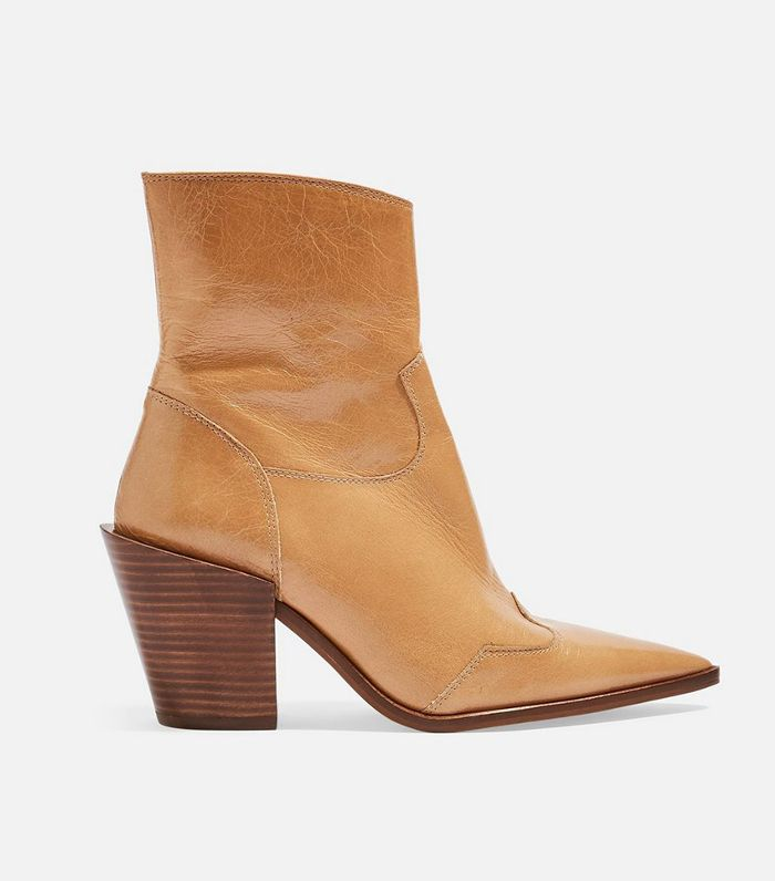 Topshop Howdie High Heel Ankle Boots
