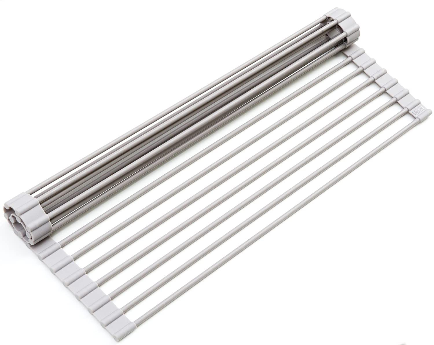 Surpahs Over-the-Sink Multipurpose Roll-Up Dish Drying