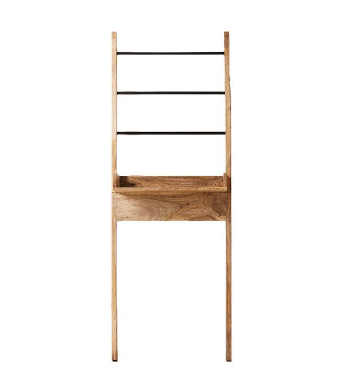 Bronte Bathroom Leaning Ladder Storage - Brown One Size at Urban Outfitters