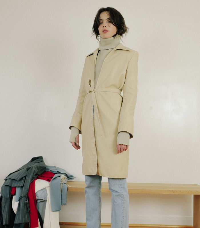 Orseund Iris Trench Nude