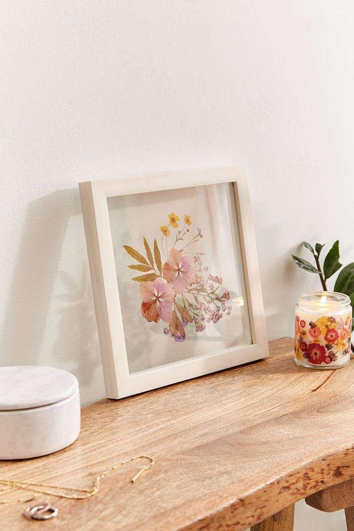 Pressed Floral 9x9 Frame