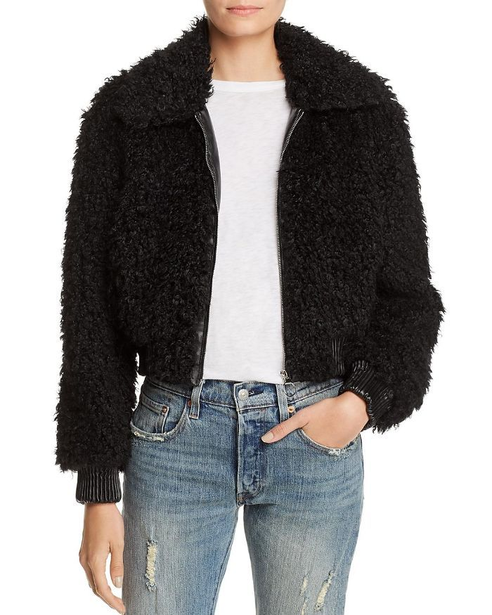 Astr the Label Phoenix Faux Fur Jacket