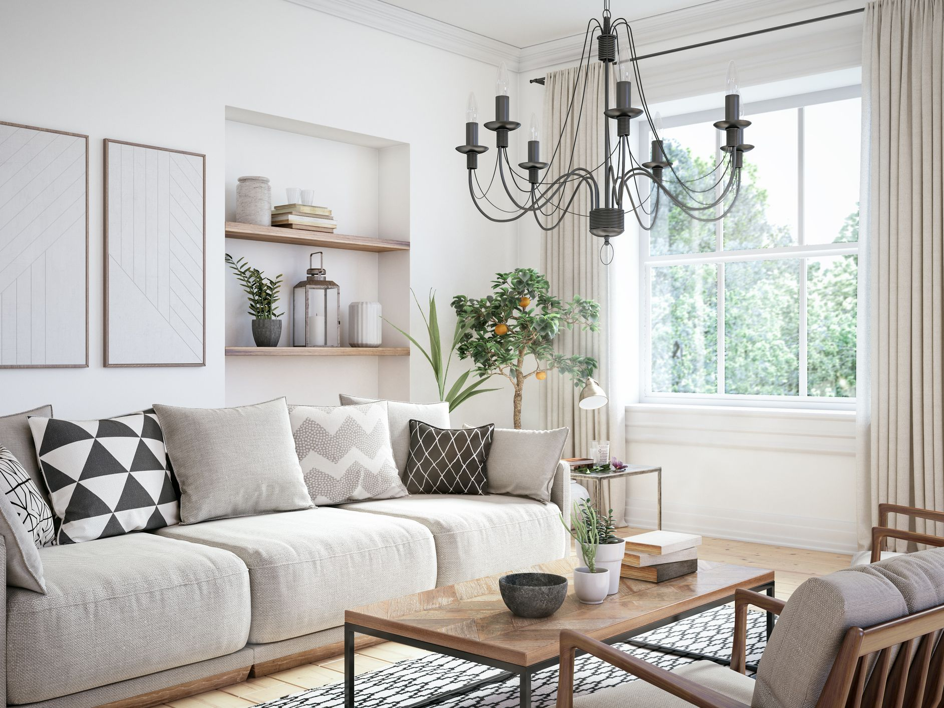 Monochromatic Living Rooms That Are Anything But Boring