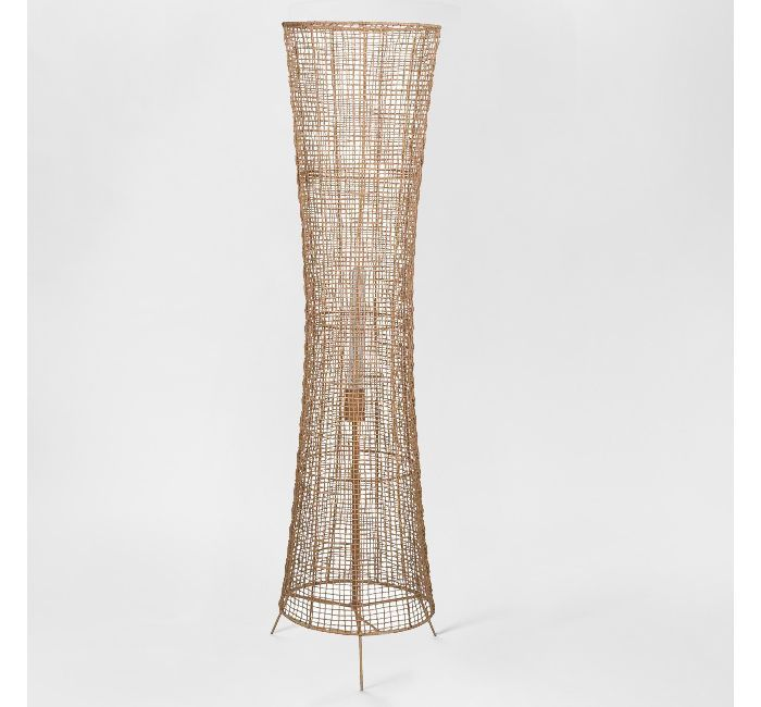 Leanne Ford for Project 62 Natural Woven Ambient Floor Lamp