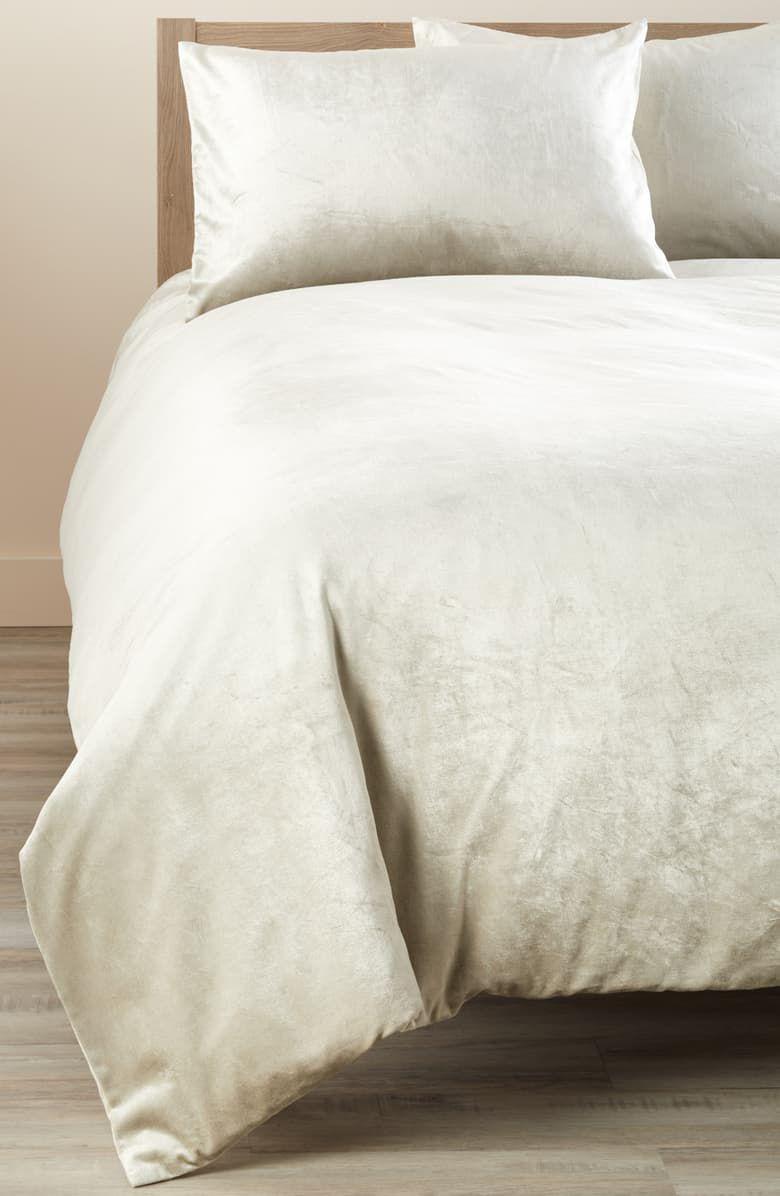 Shimmer Velvet Duvet Cover