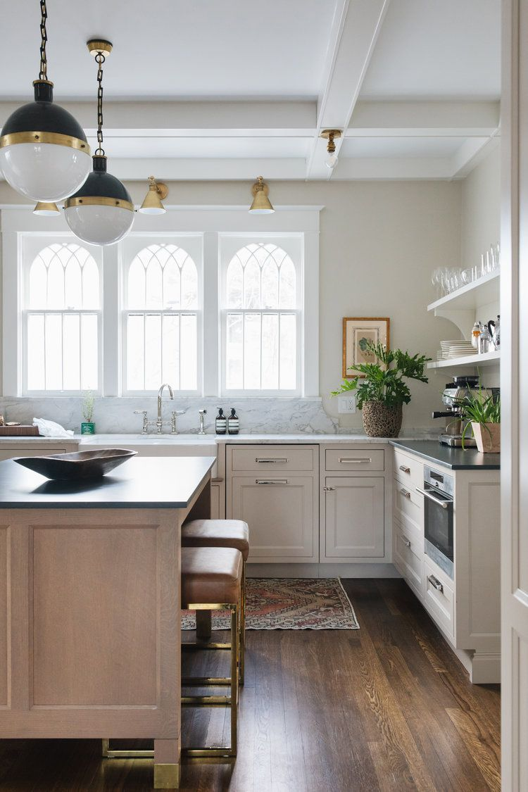 makeover of the week - jean stoffer kitchen from victorian to modern