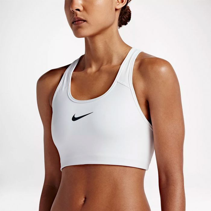 best sports bra: Nike Classic Swoosh Medium Support Sports Bra
