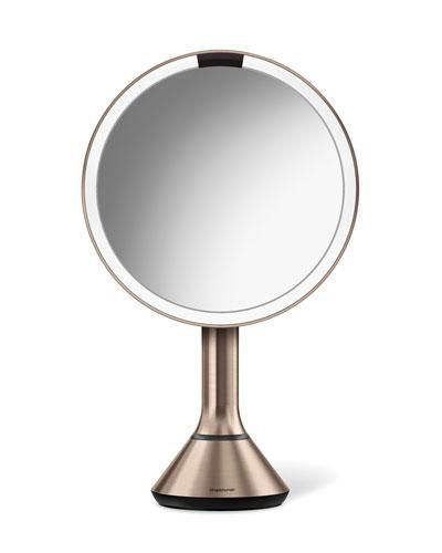 "8"" Sensor Makeup Mirror with Brightness Control"