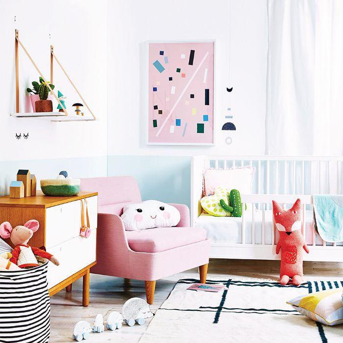 8 Gorgeous Modern Nurseries