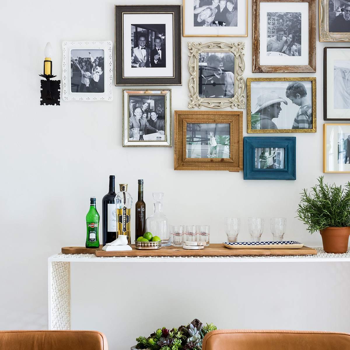 Comedor pared de la galería