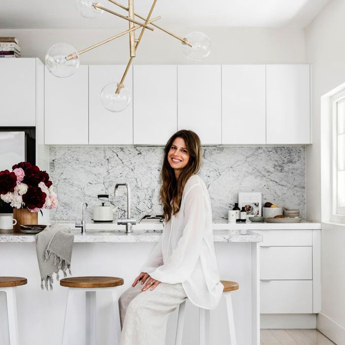 Carla Oates of The Beauty Chef in her kitchen