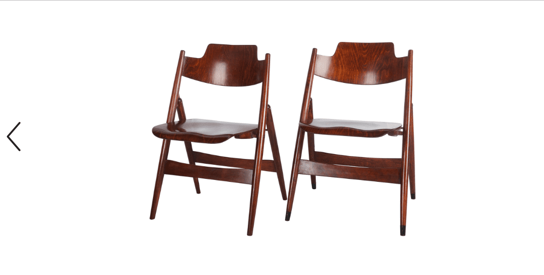 Midcentury Folding Chair