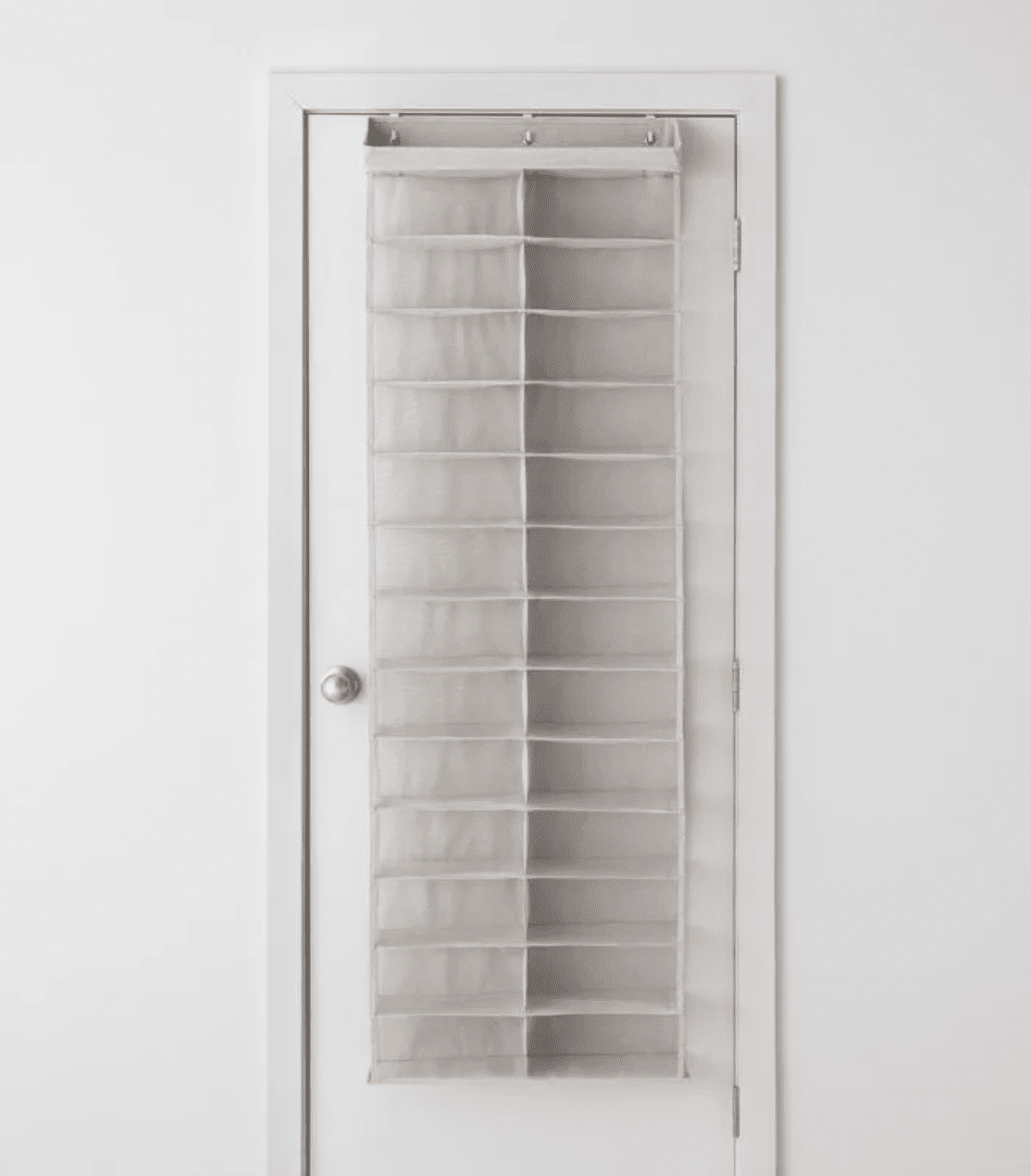 Made by Design Over The Door 26 Shelf Mesh Shoe Organizer