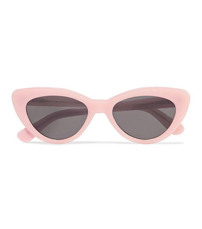 Pamela Cat-eye Acetate Sunglasses