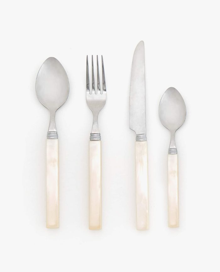 Zara Mother-of-Pearl Finish Flatware