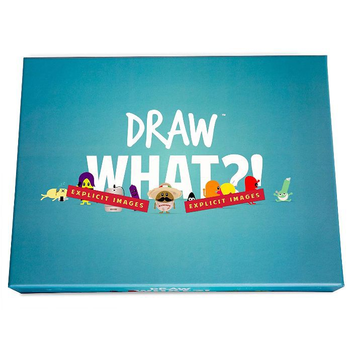 Party Games for Adults Draw What?!