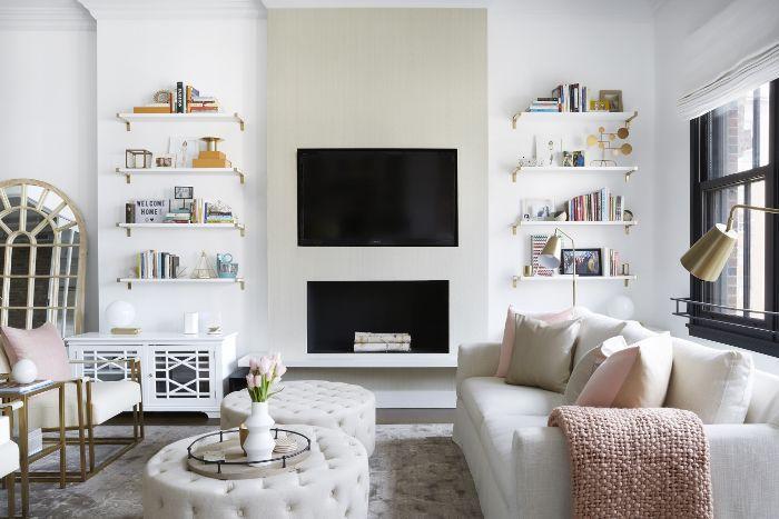 Olivia Culpo Home Tour—Living Room