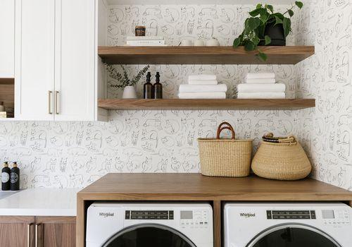 laundry room washing machine cycles
