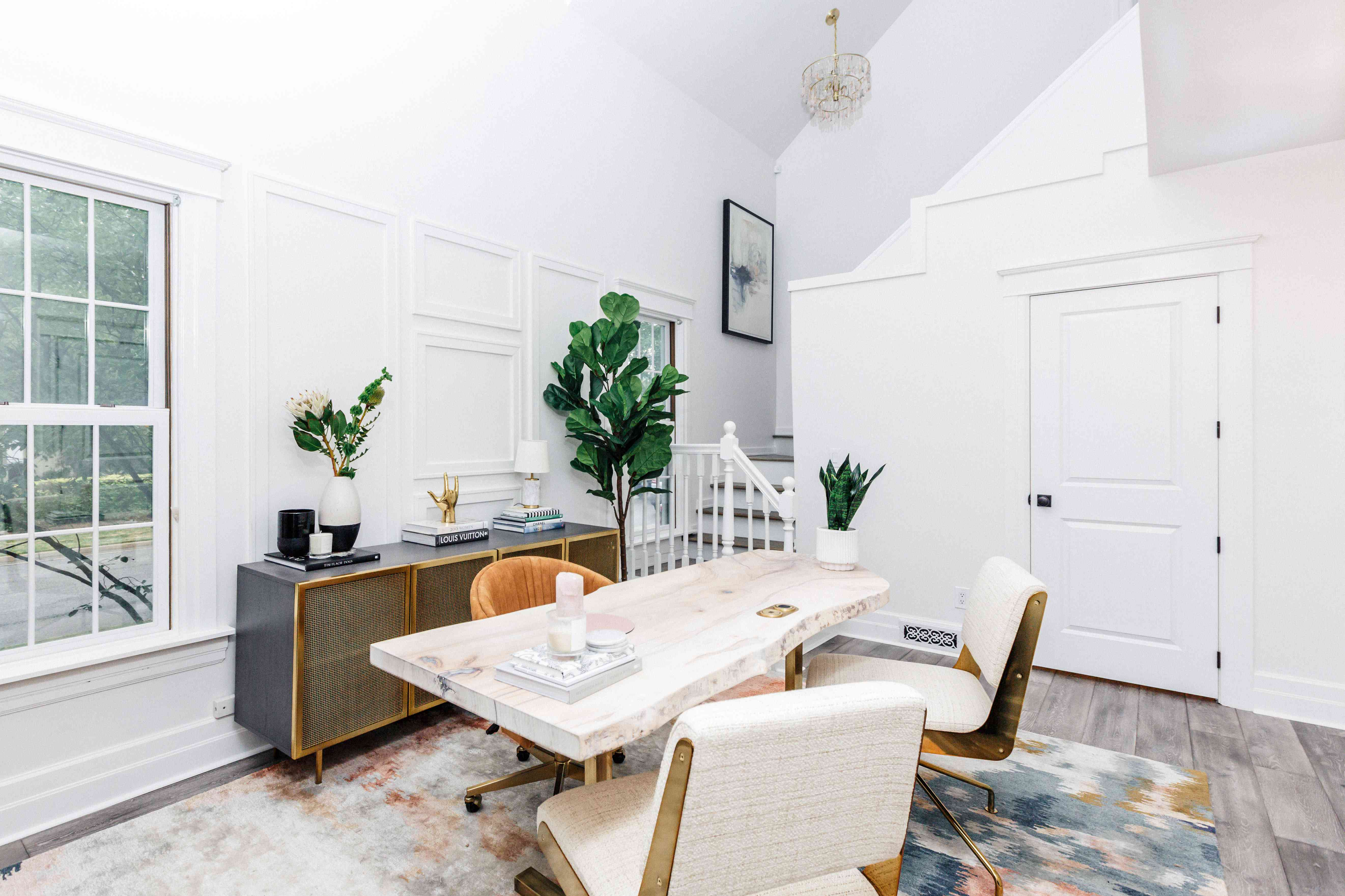 Candace Mary Interiors - lofted office