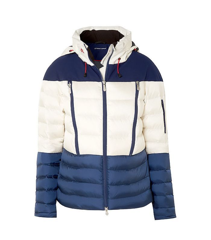 Polar Quilted Down Ski Jacket