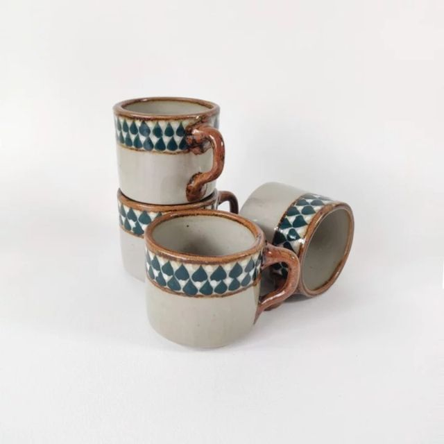 The Nopo Hand-Painted Pottery Mugs