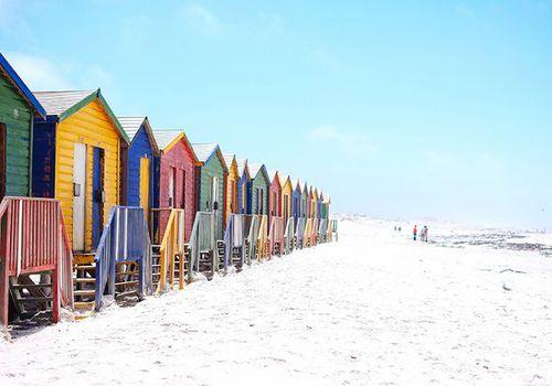 Las playas más grandes del mundo: Muizenberg