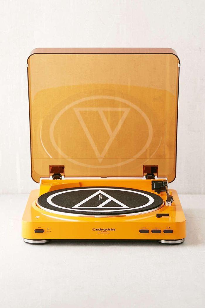 Audio-Technica X UO Pumpkin AT-LP60 Bluetooth Record Player Cheap Halloween Decor