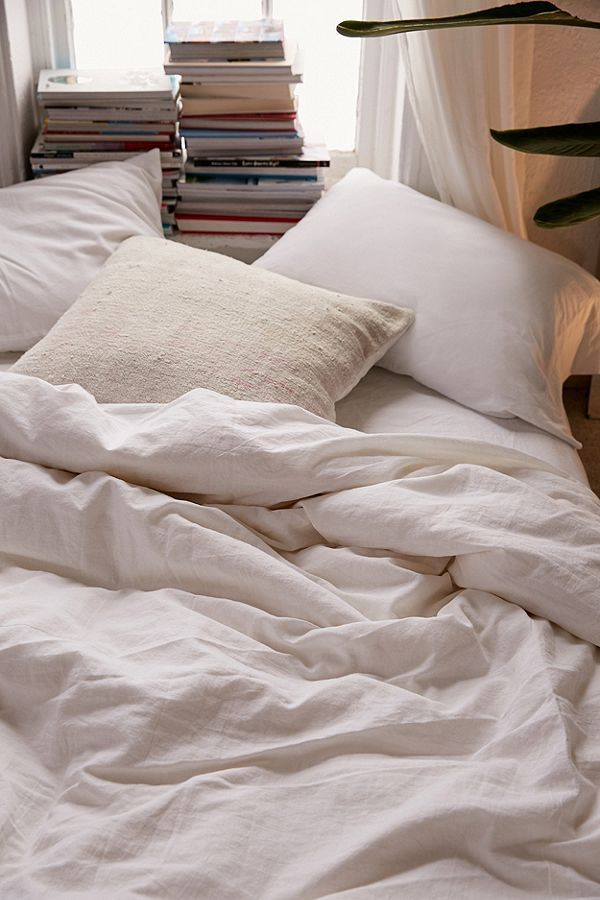 Linen Blend Duvet Cover