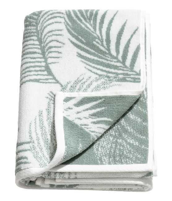 Jacquard-weave Bath Towel