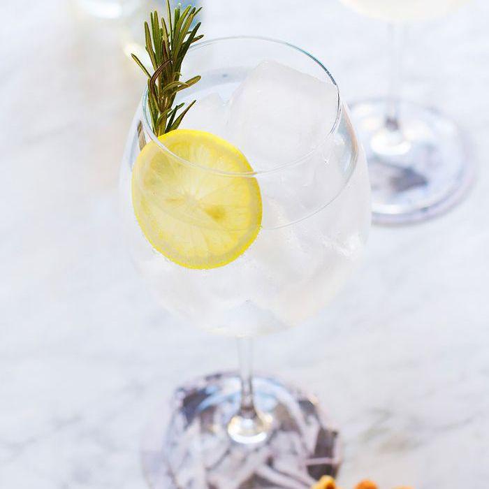 Rosemary Gin and Tonic