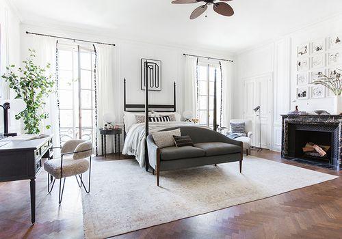 emily henderson bedroom ceiling fan